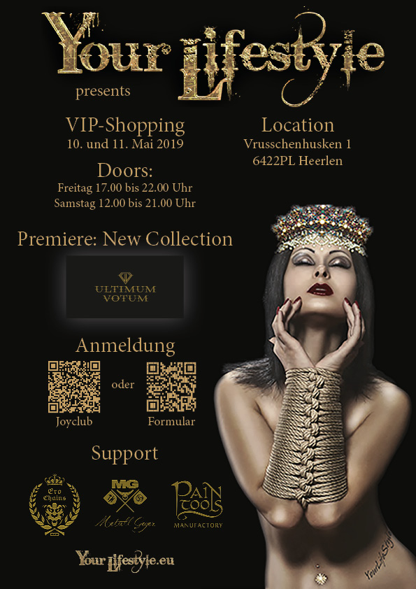 Flyer VIP-Shopping